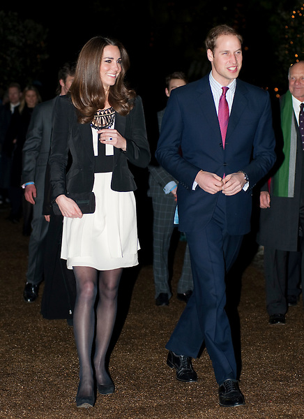 Kate Middleton and Prince William attending the Teenage Cancer Trust charity fundraising gala in Thursford, Norfolk..The Prince was guest of honour at Thursford Christmas Spectacular which featured a cast of professional singers, dancers and musicians..Emilie Van Cutsem, chairman of the Teenage Cancer Trust's East Anglia volunteer committee, who is also a close friend of William and his family, invited the prince to attend the event...Tel: 07515 876520.e mail: info@kisforkate.com
