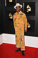 LOS ANGELES, CA - FEBRUARY 10: Leon Bridges at the 61st Annual Grammy Awards at the Staples Center in Los Angeles, California on February 10, 2019. Credit: Faye Sadou/MediaPunch