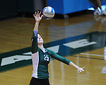 Tulane Women's Volleyball drops a heart breaker to UCF 3-2 in a match played a Fogelman Arena.