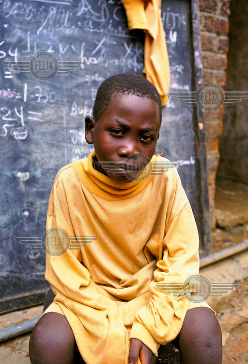 Seven year old Kubwimena is the youngest person in Kigali prison to be accused of genocide....