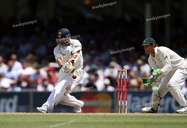 Test Series Australia V India, 2nd Test at the SCG, 4nd Jan 2008.