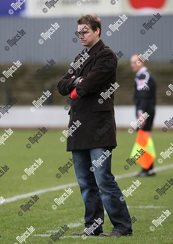 2009-03-15 / Voetbal / Berchem Sport - SK Schoten / Philip Van Dooren..Foto: Maarten Straetemans (SMB)