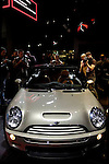 MINI Cooper S Sidewalk convertible at the North American International Auto Show, 2007