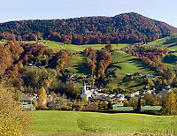 DEU, Deutschland, Bayern, Oberbayern, Berchtesgadener Land, Marktschellenberg: Herbst im Berchtesgadener Land | DEU, Germany, Bavaria, Upper Bavaria, Berchtesgadener Land, Marktschellenberg: autumn at Berchtesgadener Land