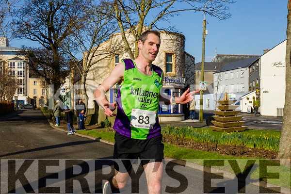 Martin Crowley, pictured at  the Kerry's Eye Valentines Weekend 10 mile road race on Sunday.