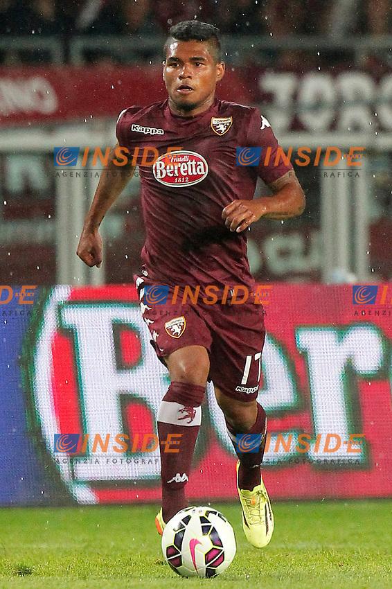 Josef Martinez Torino, Torino 7-8-2014, Stadio Olimpico, Football Calcio 2014/2015 Europa League, Torino - Brommapojkarna, Foto Marco Bertorello/Insidefoto