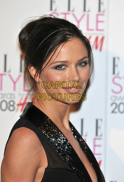 GEORGINA CHAPMAN.ELLE Style Awards 2008, The Westway, London, England,.12th February 2008..portrait headshot profile.CAP/PL.©Phil Loftus/Capital Pictures