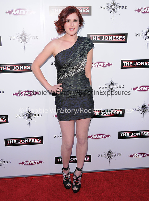 Rumer Willis  at the L.A. Premiere of The Joneses held at The Arclight Theatre in Hollywood, California on April 08,2010                                                                   Copyright 2010  DVS / RockinExposures