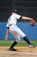 Staten Island Yankees pitcher Dietrich Enns (21) during game against the Auburn Doubledays at Richmond County Bank Ballpark at St.George on August 2, 2012 in Staten Island, NY.  Auburn defeated Staten Island 11-3.  Tomasso DeRosa/Four Seam Images