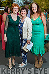 Avril, Camille and Marie Kelter, Tralee at the Rose of Tralee fashion show at the dome on Sunday night.
