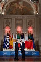 Paolo Gentiloni e Alexis Tsipras<br /> Roma 10/01/2018. 4° Vertice dei paesi del sud dell'Unione Europea<br /> Rome January 10th 2018. 4th Summit of the southern EU Countries<br /> Foto Samantha Zucchi Insidefoto