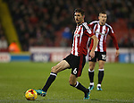 Chris Basham of Sheffield Utd during the English League One match at the Bramall Lane Stadium, Sheffield. Picture date: November 22nd, 2016. Pic Simon Bellis/Sportimage