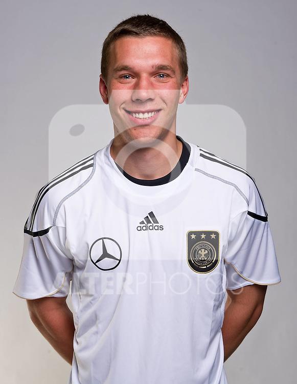 02.06.2010, Commerzbank-Arena, Frankfurt, GER, FIFA Worldcup, Spielerportraits, im Bild Lukas Podolski ( 1. FC Koeln #10 ) Foto © nph / Kokenge