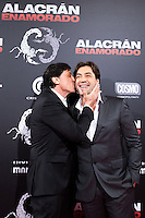"Carlos Bardem presents his film ""Alacran Enamorado"" with his brother Javier Bardem"