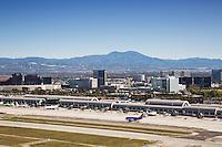 Aerial Stock Photo Of John Wayne Airport
