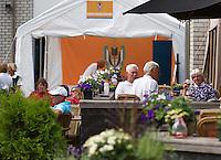 2013,August 21,Netherlands, Amstelveen,  TV de Kegel, Tennis, NVK 2013, National Veterans Tennis Championships,   Game control<br /> Photo: Henk Koster