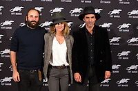 Vanessa Paradis, S. Benchetrit, V.Macaigne _Photocall ' Chien ' 32nd FIFF - Belgium