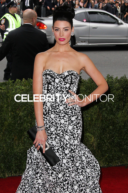 "NEW YORK CITY, NY, USA - MAY 05: Jessica Pare at the ""Charles James: Beyond Fashion"" Costume Institute Gala held at the Metropolitan Museum of Art on May 5, 2014 in New York City, New York, United States. (Photo by Xavier Collin/Celebrity Monitor)"