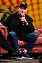 COCONUT CREEK, FL - FEBRUARY 15: An Intimate Evening and Q&A with actor Charlie Sheen Moderator by Lynn Martinez from Deco Drive, WSVN 7 At Seminole Casino Coconut Creek on February 15, 2020 in Coconut Creek , Florida.  ( Photo by Johnny Louis / jlnphotography.com )