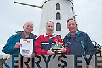Pictured at Blennerville on Thursday with a life saving defibrillator are l-r: P.J Higgins, Maurice Hannafin and William Dore Tralee.