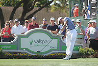 Justin Thomas (USA) during round 1 of the Valspar Championship, at the  Innisbrook Resort, Palm Harbor,  Florida, USA. 10/03/2016.<br /> Picture: Golffile | Mark Davison<br /> <br /> <br /> All photo usage must carry mandatory copyright credit (© Golffile | Mark Davison)