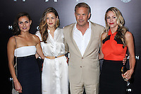 "NEW YORK, NY - JUNE 10: Kevin Costner and Christine Baumgartner attend the ""Man Of Steel"" World Premiere at Alice Tully Hall at Lincoln Center on June 10, 2013 in New York City. (Photo by Celebrity Monitor)"