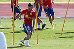 Spanish Saul Iniguez during the second training of the concentration of Spanish football team at Ciudad del Futbol de Las Rozas before the qualifying for the Russia world cup in 2017 August 30, 2016. (ALTERPHOTOS/Rodrigo Jimenez)