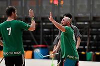 FloorBall - Wellington Open at ASB Sports Centre, Wellington, New Zealand on Saturday 29 September 2018. <br /> Photo by Masanori Udagawa. <br /> www.photowellington.photoshelter.com