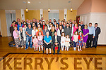 Kitty & Jimmy O'Donoghue seated front centre from Killurley West, Cahersiveen celebrated their 50th Wedding Anniversary with family and friends at The Ring of Kerry hotel on Friday night.