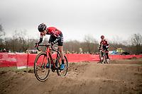 Annemarie Worst (NED/777)<br /> <br /> Women's Race<br /> CX GP Leuven (BEL) 2020<br />  <br /> ©kramon