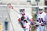 Los Angeles, CA 03/20/10 - Christian Schaefer (Arizona # 11) in action during the Arizona-Loyola Marymount University MCLA game at Leavey Field (LMU).  LMU defeated Arizona 13-6.