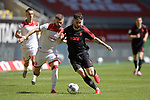 Marco RICHTER (FC Augsburg),<br />Valon BERISHA (Fortuna Duesseldorf),<br />Aktion,Zweikampf.<br /><br />Fussball 1. Bundesliga, 33.Spieltag, Fortuna Duesseldorf (D) -  FC Augsburg (A), am 20.06.2020 in Duesseldorf/ Deutschland. <br /><br />Foto: AnkeWaelischmiller/Sven Simon/ Pool/ via Meuter/Nordphoto<br /><br /># Editorial use only #<br /># DFL regulations prohibit any use of photographs as image sequences and/or quasi-video #<br /># National and international news- agencies out #
