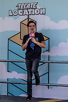 MEXICALI, MEXICO - June 8 Musician/Actor Drake Bell during his press conference on the Tecate Location June 8, 2019 in Mexicali, Mexico.<br /> Tecate Location Mexicali 2019 is one of the main music festivals nationwide and in the state, Band line up<br /> CAIFANES, CAMILO VII, DRAKE BELL, LNG / SHT, SERBIA<br /> (Photo by Luis Boza/VIEWpress)