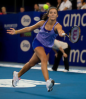 Laura Robson (GB) against Maria Jose Martinez Sanchez (ESP) in the final between Great Britain and Spain. Laura Robson (GBR) beat Maria Jose Martinez Sanchez (ESP) 6-1 7-6..International Tennis - Hyundai Hopman Cup XXII - Sat 00 Jan 2010 - Burswood Dome - Perth - Australia ..© Frey - AMN Images, 1st Floor Barry House, 20-22 Worple Road, London, SW19 4DH