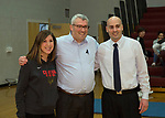 Monmouth Medical Center Southern Campus Foundation Check Presentation at Central Regional High School.