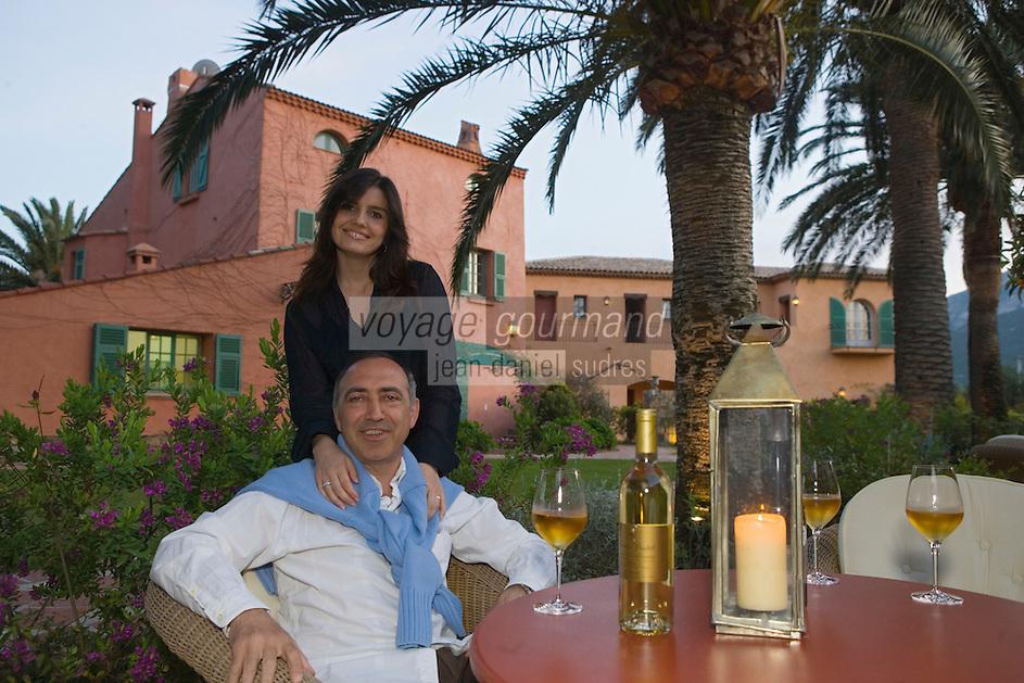 "Europe/France/Corse/2B/Haute-Corse/Calvi : Hotel-Restaurant ""La Signoria"", rte de l'aéroport Jean-Baptiste et Marie Ceccaldi"