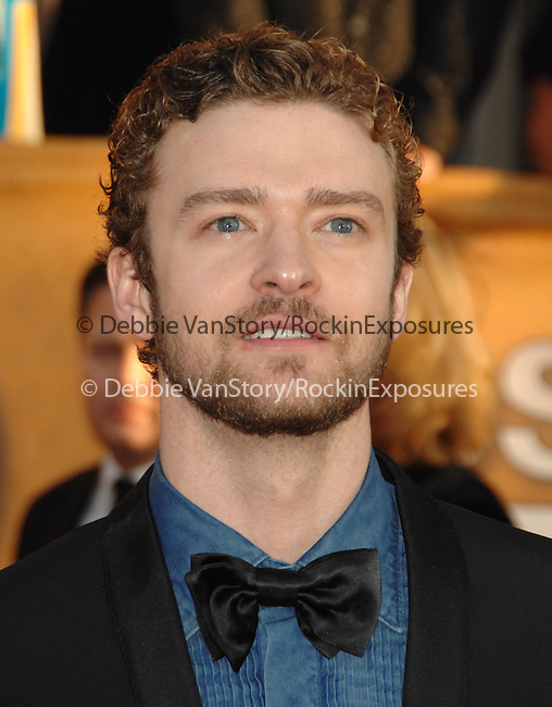 Justin Timberlake attends The 16th Annual Screen Actors Guild Awards Held At The Shrine Auditorium in Los Angeles, California on January 23,2010                                                                                       © 2009  DVS / RockinExposures..