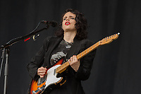 Anna Calvi plays day one of the 2019 Latitude Festival at Henham Park, Suffolk.