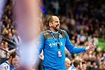 Juergen Schweikardt (TVB Stuttgart #C1) beim Spiel in der Handball Bundesliga, TVB 1898 Stuttgart - HBW Balingen-Weilstetten.<br /> <br /> Foto © PIX-Sportfotos *** Foto ist honorarpflichtig! *** Auf Anfrage in hoeherer Qualitaet/Aufloesung. Belegexemplar erbeten. Veroeffentlichung ausschliesslich fuer journalistisch-publizistische Zwecke. For editorial use only.