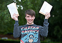14/08/14 <br /> <br /> Head Boy, Tim Barnett A*A*A<br /> <br /> A level students collect their exam results from John Port School, Etwall, Derbyshire. Deputy Head Phil Smith said: &quot;It's been our best year ever. As and A* grades are up by 7 or 8 percent. Twenty seven percent of students achieved the top two grades bring the total tally  for the school to 103. Although obviously their are still some students who didn't get the grades they were hoping for&quot;.<br /> <br /> All Rights Reserved - F Stop Press.  www.fstoppress.com. Tel: +44 (0)1335 300098