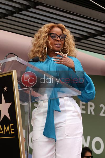 Mary J Blige<br /> at the Taraji P. Henson Star on the Hollywood Walk of Fame, Hollywood, CA 01-28-19<br /> David Edwards/DailyCeleb.com 818-249-4998