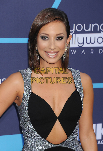 LOS ANGELES, CA- JULY 27: Dancer Cheryl Burke arrives at the 16th Annual Young Hollywood Awards at The Wiltern on July 27, 2014 in Los Angeles, California.
