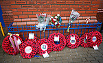 11.11.18 Rangers v Motherwell: The club and armed forces mark the 100th year of tha Armistice on Remembrance Sunday