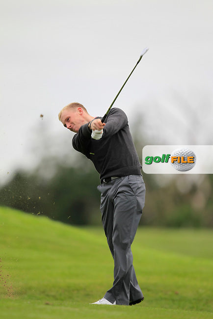 Eoghan O'Donovan (Craddockstown) on the 10th tee during Day 1of the Irish Youths Amateur Close Championship at Claremorris Golf Club on Wednesday 28th August 2013 <br /> Picture:  Thos Caffrey/ www.golffile.ie