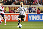 20 October 2012: Svenja Huth (GER). The United States Women's National Team played the Germany Women's National Team at Toyota Park in Bridgeview, Illinois in a women's international friendly soccer match. The game ended in a 1-1 tie.