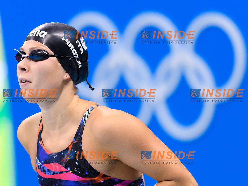 PIROZZI Stefania ITA Women's 200m Butterfly <br /> Rio de Janeiro 09-08-2016 Olympic Aquatics Stadium <br /> Swimming Nuoto <br /> Foto Andrea Staccioli/Deepbluemedia/Insidefoto
