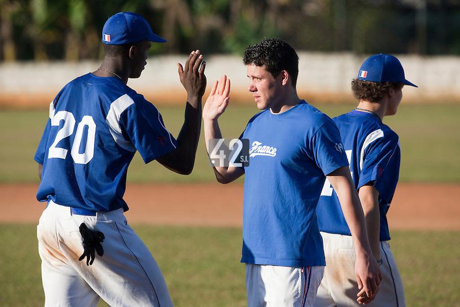 BASEBALL - POLES BASEBALL FRANCE - TRAINING CAMP CUBA - HAVANA (CUBA) - 13 TO 23/02/2009 - BORIS MARCHE (FRANCE)