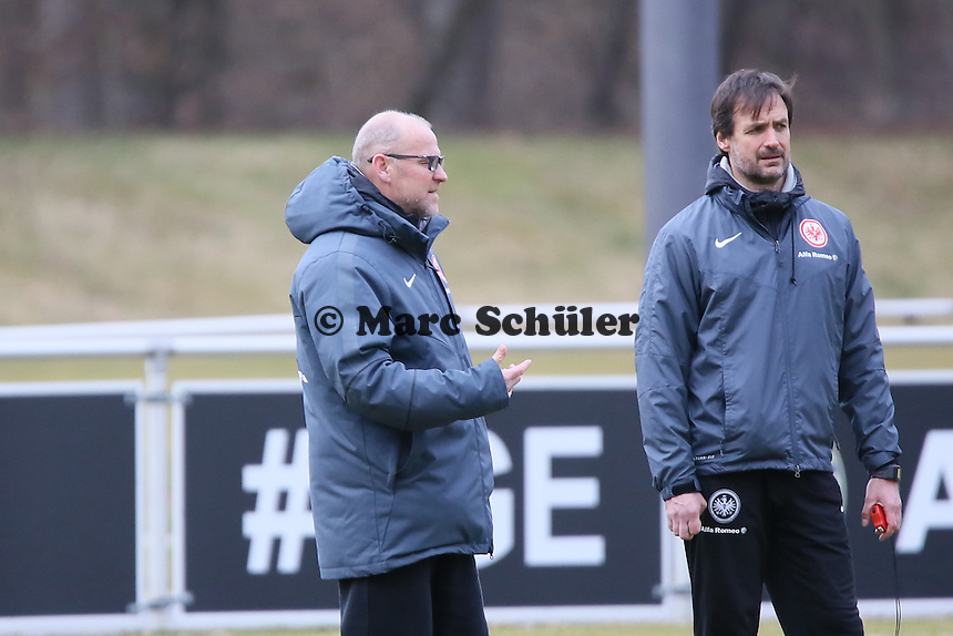 Trainer Thomas Schaaf - Eintracht Frankfurt Training, Commerzbank Arena