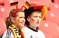 Junge Deutsche Fans im Stadion - 08.06.2018: Deutschland vs. Saudi-Arabien, Freundschaftsspiel, BayArena Leverkusen