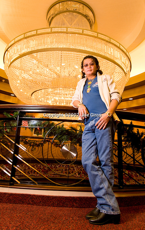 Scotty Nguyen poses for a portrait session.